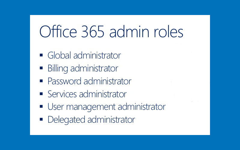 Office 365 delegated network administration