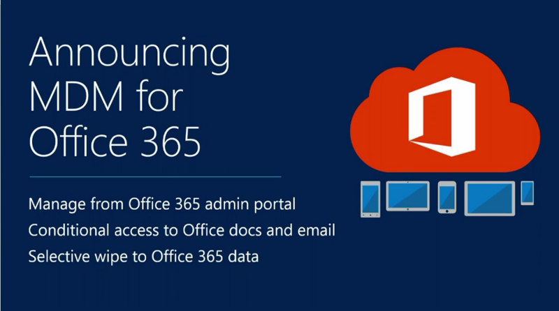 mdm for office 365