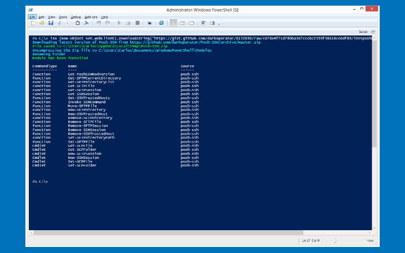 About Powershell Scripts