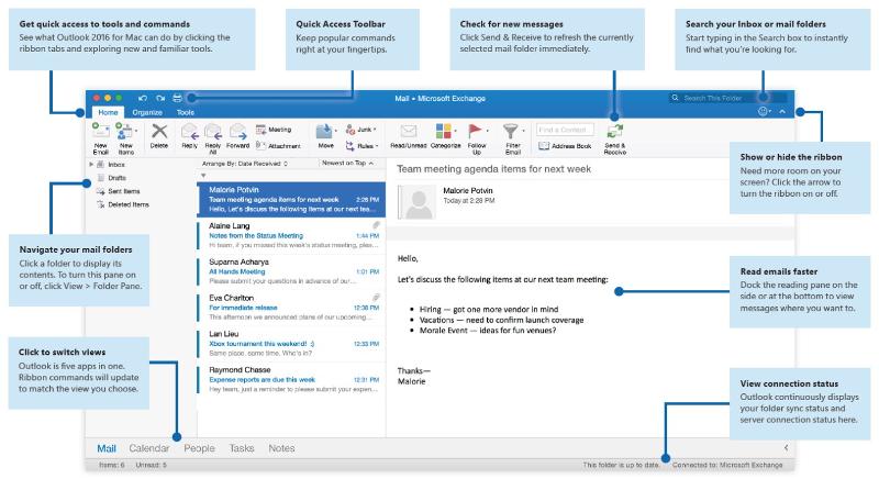 Outlook Mac Quick Start